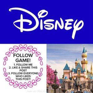 DISNEY Follow Game Sellers/Shoppers Connect Here❤️